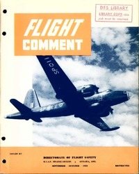 Flight comment 1955 -5