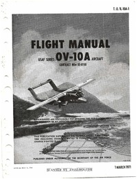 T.O. 1L-10A-1 Flight Manual OV-10A