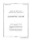 T.O. 03-25-10 Index of Army-Navy Aeronautical Equipment Volume 2 - Landing gear