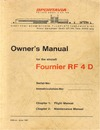 Owner's Manual for the aircraft Fournier RF4D