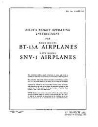 T.O. 01-50BC-1-95 Pilot's Flight Operating instructions for BT-13A Airplanes