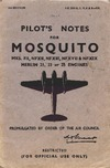 A.P. 2019B,G,H,K &R Pilot's Notes for Mosquito Mks FII, NFXII, NFXIII, NFXVII & NFXIX - 2nd edition