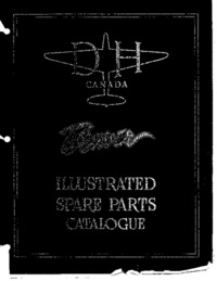 DHC-2 Beaver Illustrated Spare Parts Catalogue