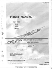 T.O. 1B-26B-1 Flight Manual B-26B B-26C