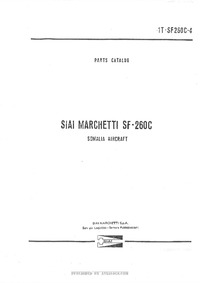 1T-SF260C-4 Parts Catalog SIAI Marchetti SF-260C - Somalia Aircraft