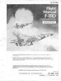 T.O. 1F-111D-1 Flight Manual F-111D