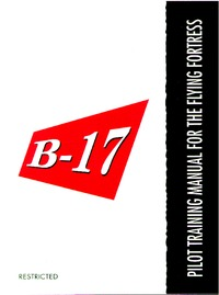 Pilot Training manual for B-17 Flying Fortress