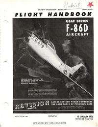 AN 01-60JLC-1 Flight Handbook F-86D Aircraft