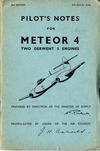 A.P. 2210D Pilot's Notes for Meteor 4 - 2nd Edition
