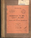 A.P. 4309A Sedbergh TX Mk.1 Light Glider - General and technical information
