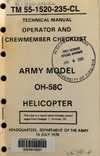 2652 TM 55-1520-235-CL Operator and crewmember checklist OH-58C
