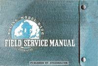 Boeing B-17G Field Service Manual