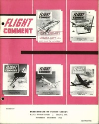 RCAF Flight comment 1955-6