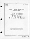 T.O. 01-75F-1 Pilot's Flight Operating Instructions for Army Models P-38 Series F-4 and F-5 Series